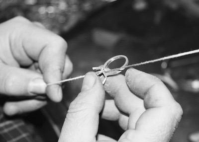 Leon Mege hand made wedding ring