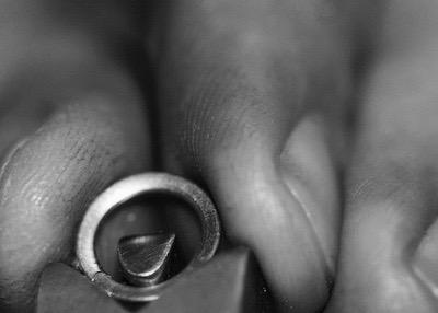 Leon Mege custom made engagement wedding jewelry