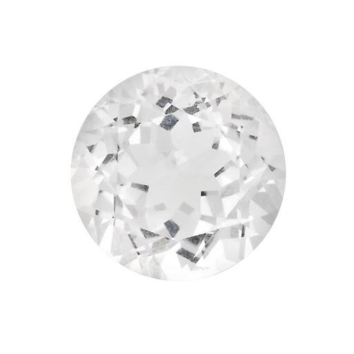 white colorless topaz diamond alternative