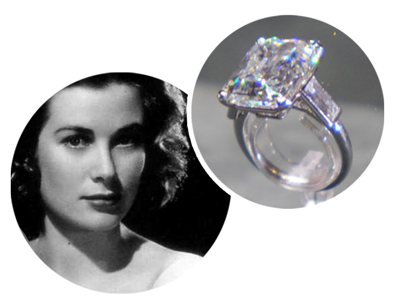 Grace Kelly engagement ring leon mege