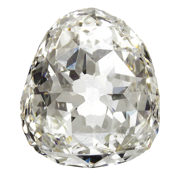 beau sancy diamond by Leon Mege, famous diamond, antique cushion diamond, legendary diamond