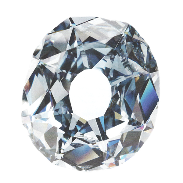 Wittelbach diamond, famous diamond, antique cushion diamond legendary diamond