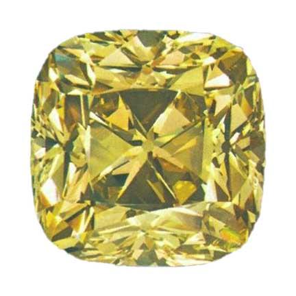 Red Cross diamond presented by leon mege, famous diamond, antique cushion diamond legendary diamond
