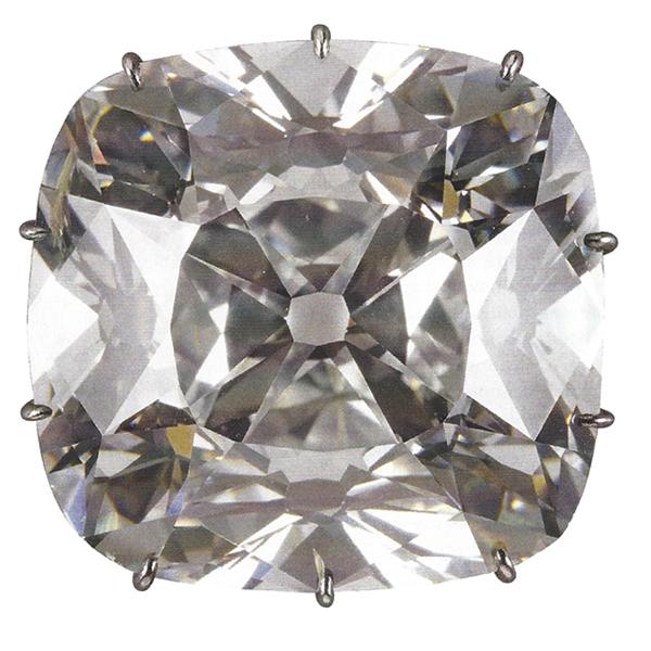 regent diamond, famous diamond, antique cushion diamond legendary diamond