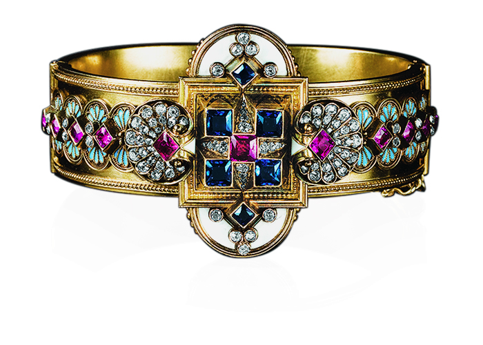 Historical periods in jewelry by Leon Mege