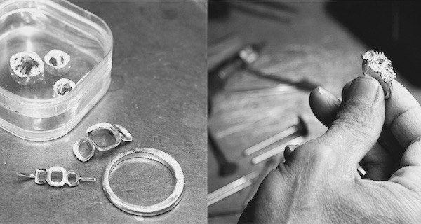 Leon Mege hand forged ring