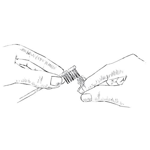 leon_mege_ring_cleaning_brushing_maintenance.jpg