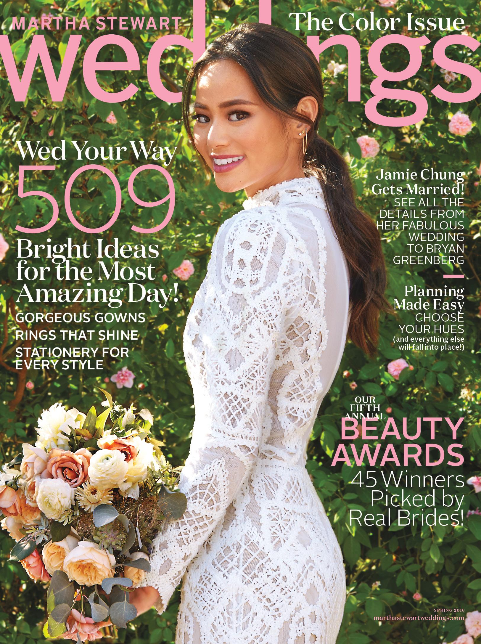 Martha Stewart Wedding Fall 2016