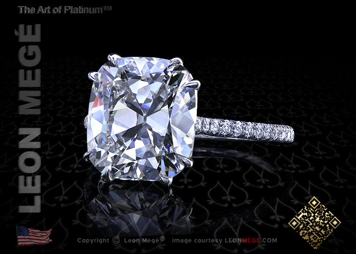 5.15 ct Antique Cushion I/VVS2  r4000
