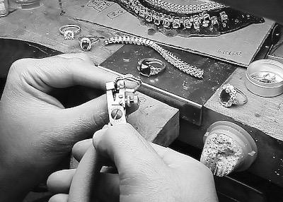 Leon Mege bench made rings earrings pendants