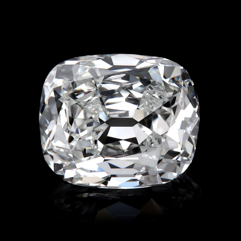 5.02 ct H/VS1 True Antique™ cushion diamond GIA 2215644576